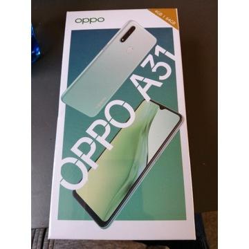 Smartfon OPPO A31 4GB/64GB czarny NOWY zafoliowany