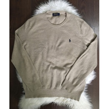 Beżowy sweter Polo Ralph Lauren L