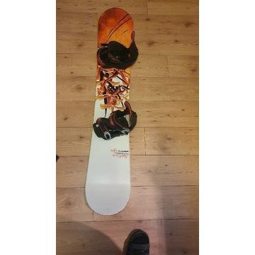 Deska snowboardowa rossignol sublime 152 +wiązania