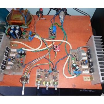 Wzmacniacz mosfet DIY Bluetooth