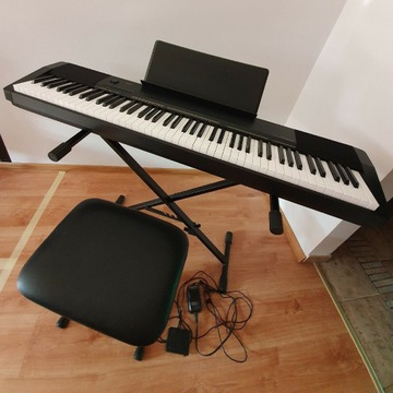 Casio CDP 130 pianino + statyw + taboret komplet