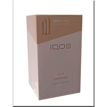 IQOS 3 DUO GOLD - NOWY, ORYGINALNY!