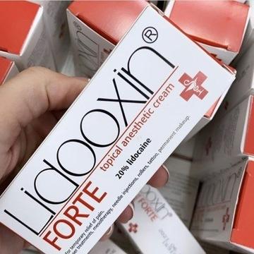 Lidooxin Forte 20% Krem znieczulający 20g Lidoxin