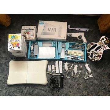 Konsola Nintendo Wii !!! 20 Gier!!! MEGA ZESTAW!!!