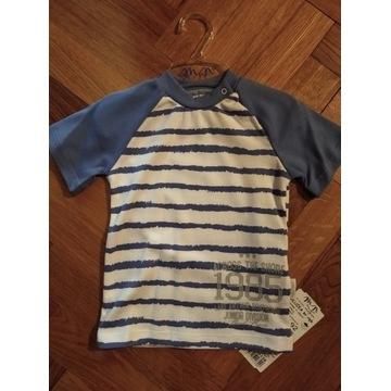 Koszulka bawełniana bluzeczka dla chłopca 98