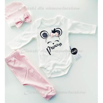 """Urocze body niemowlęce """"Prinscss"""" r. 68"""