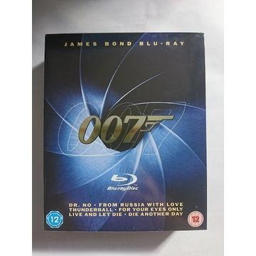 james bond blu-ray 6 filmów