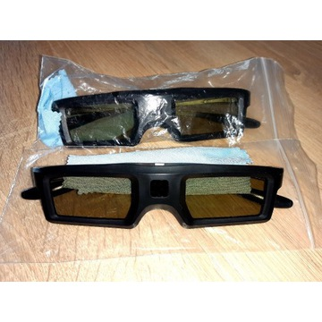 Okulary 3D uniwersalne 2 szt