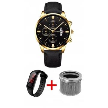 Elegancki, biznesowy zegarek męski na Prezent