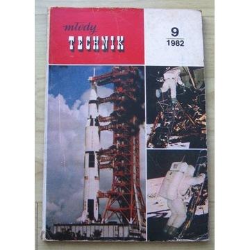 Młody Technik nr 9 1982 rok