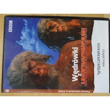 """___ DVD """"Wędrówki jaskiniowcami"""" BBC"""
