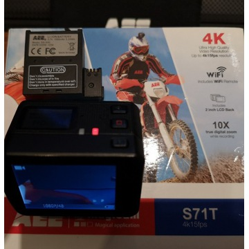 Kamera sportowa AEE S71T - konkurent GO PRO
