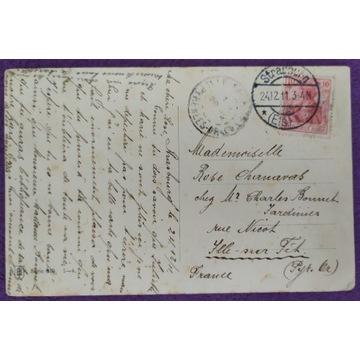 D. Reich pocztówka 1911