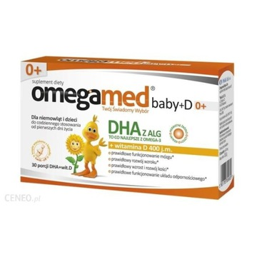 Omegamed Baby+D 0+30 kaps twist-off data 30.09.20