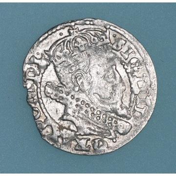 grosz 1606, Kraków ładnie, głęboko wybity; krążek