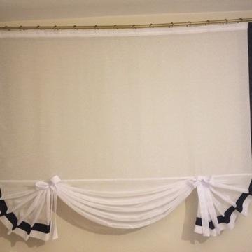 Panel - dekoracja okienna - Kokarda