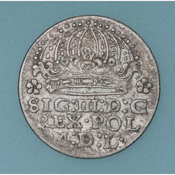 grosz 1612, Kraków ładnie zachowany ze starą patyn