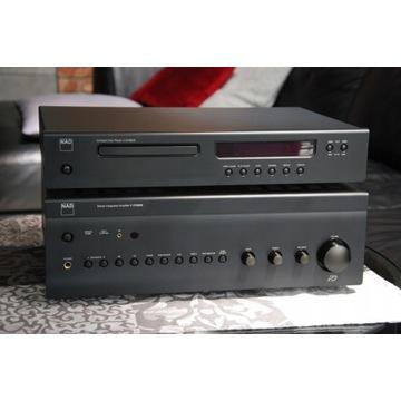 Zestaw Audio Wzmacniacz NAD C375 BEE + CD NAD C545