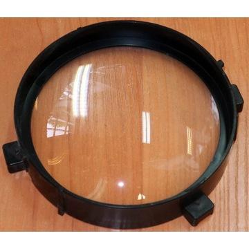 Soczewka szkalna wypukła, f=20 cm, średnica 119 mm