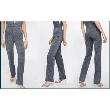 ZARA spodnie damskie proste 38 M