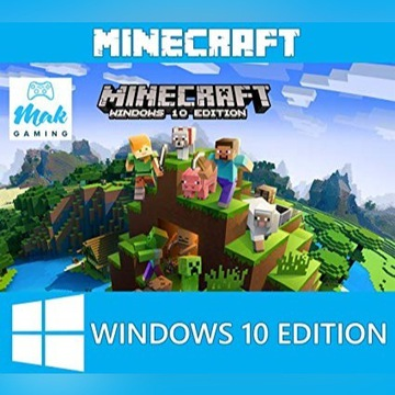 Minecraft: Windows 10 Edition.