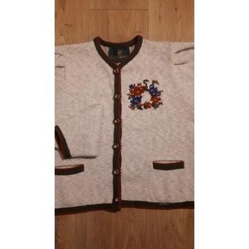 sweter wełniany/ z wełny, Giesswein, rozmiar 44