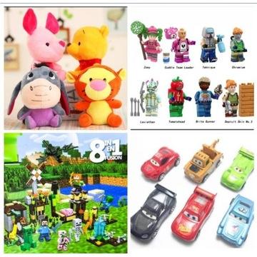 Zabawki na Święta figurki maskotki gadżety klocki