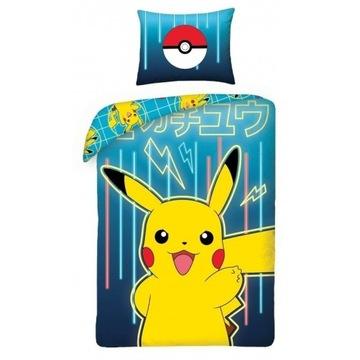 Pościel Pokemon Pikachu 140x200  Oryginalna!