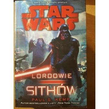 Star Wars Lordowie Sithów - Książka