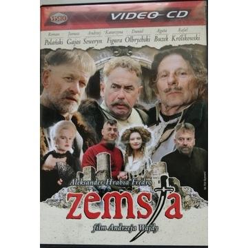 """FILM """"ZEMSTA"""" VCD, 2 PŁYTY, PUDEŁKO. JAK NOWY."""