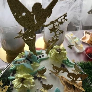 Dzwoneczek topper dekoracja na tort urodziny