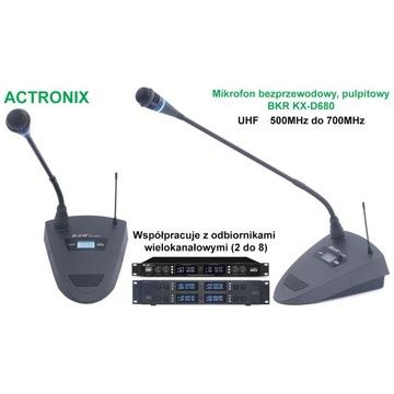 Mikrofon bezprzewodowy pulpitowy BKR KX-D680