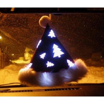 Czapeczka czapka samochodowa świecąca LED Auto Tir