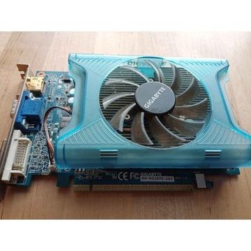 Karta graficzna GIGABYTE GT220 1GB GDDR3 GV-N220TC