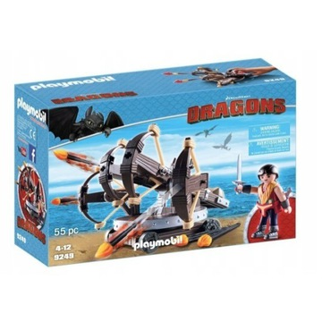 Playmobil Dragons 9249, 55 elementów - NOWE
