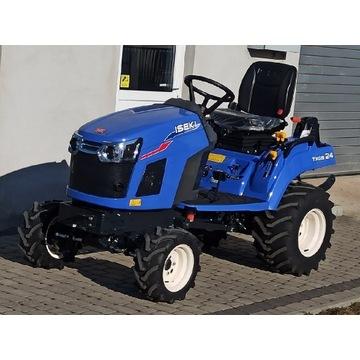 Mini traktor kosiarka ISEKI TXGS 24 23KM. Hydro