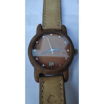 Drewniany zegarek damski marki OLD OAK