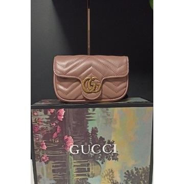 Torebka Gucci Marmont mini beż