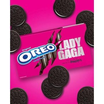 4x Oreo Lady Gaga Kakaowe Ciastka Waniliowy Krem