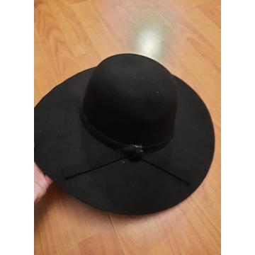 kapelusz filcowy ciepły 30% wełna 70% wiskoza