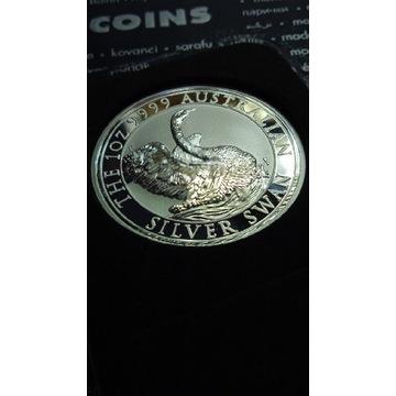 Australia 2020 Swan łabędź 1 oz srebro 999
