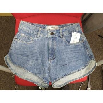 Spodenki jeansowe damskie LABELLAMAFIA, ROZ.38