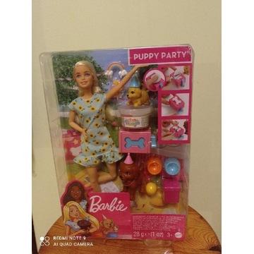 Lalka Barbie przyjęcie urodzinowe