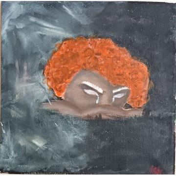 """Obraz akrylowy """"Walka"""", 20 x 20"""