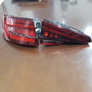 Lampy LED Audi A4 B9 TYŁ