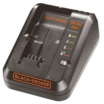 BLACK DECKER BDC1A SZYBKA ŁADOWARKA 14,4 18V Li-Io