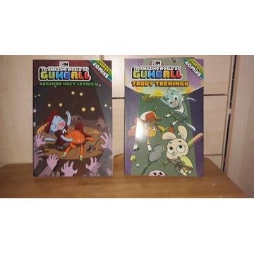 Gumball zestaw: Komiks 9 szt, książka 3 szt