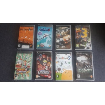 Zestaw Gier na PSP Ape Escape, Patapon, Need For S