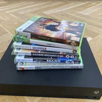 Xbox One X + Gry