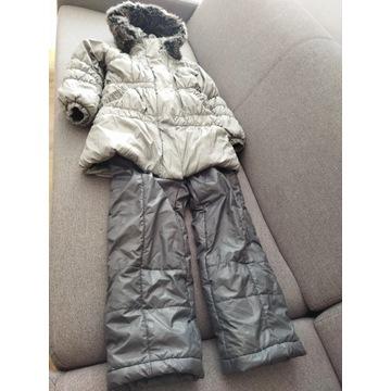 kurtka Wojcik rozm 128 spodnie zimowe kombinezon